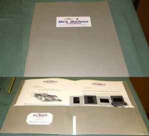 DICK BARBOUR RACING - REYNARD  01Q Le Mans P675 press kit